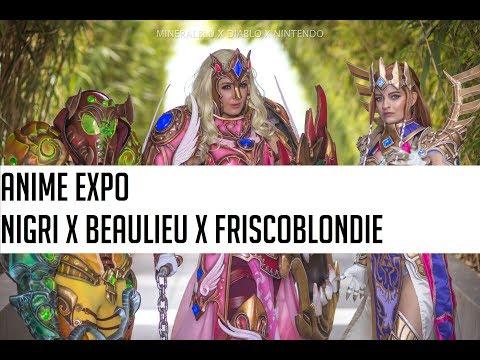 Косплей Nintendo x Diablo стал звездой Anime Expo