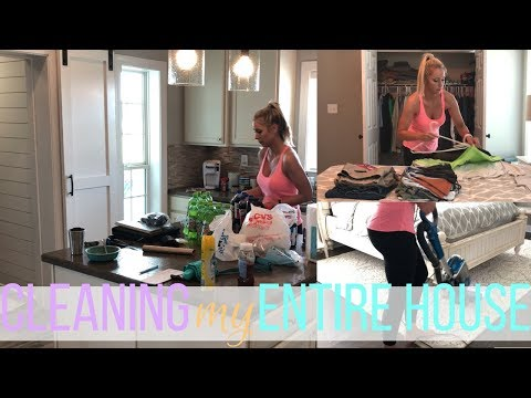 Cleaning My Entire House w/ Music | Clean With Me | Cleaning Motivation