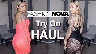 Fashion Nova Try On Haul (Hot, Sexy, & Comfortable)