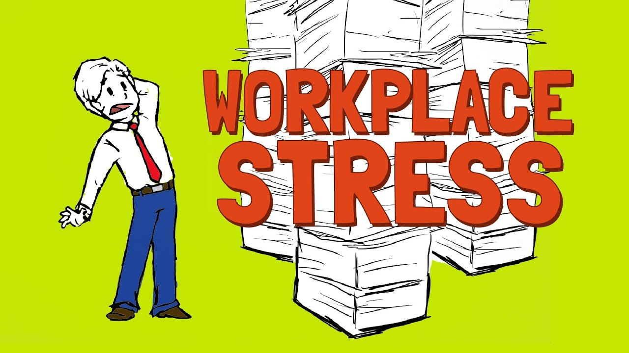 Workplace Stress Cartoons