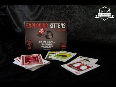 Exploding Kittens Spielanleitung Youtube