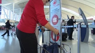 Air Canada cracks down on carry-on luggage