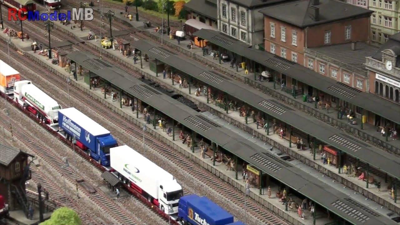 RCModelMB Model Trains On Railway HO Scale YouTube