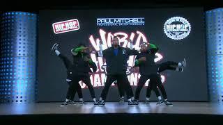 2018 World Hip Hop Dance Championship Finals - Da Republik (Dominican Republic) SILVER