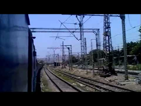 Compilation of Videos through 17031 CST-Hyderabad Exp from Dadar to Kalyan
