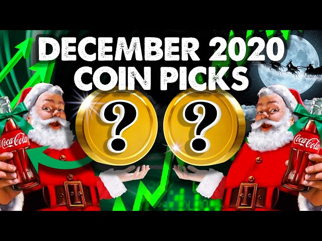 My ALTCOIN Picks For Explosion in DECEMBER!!