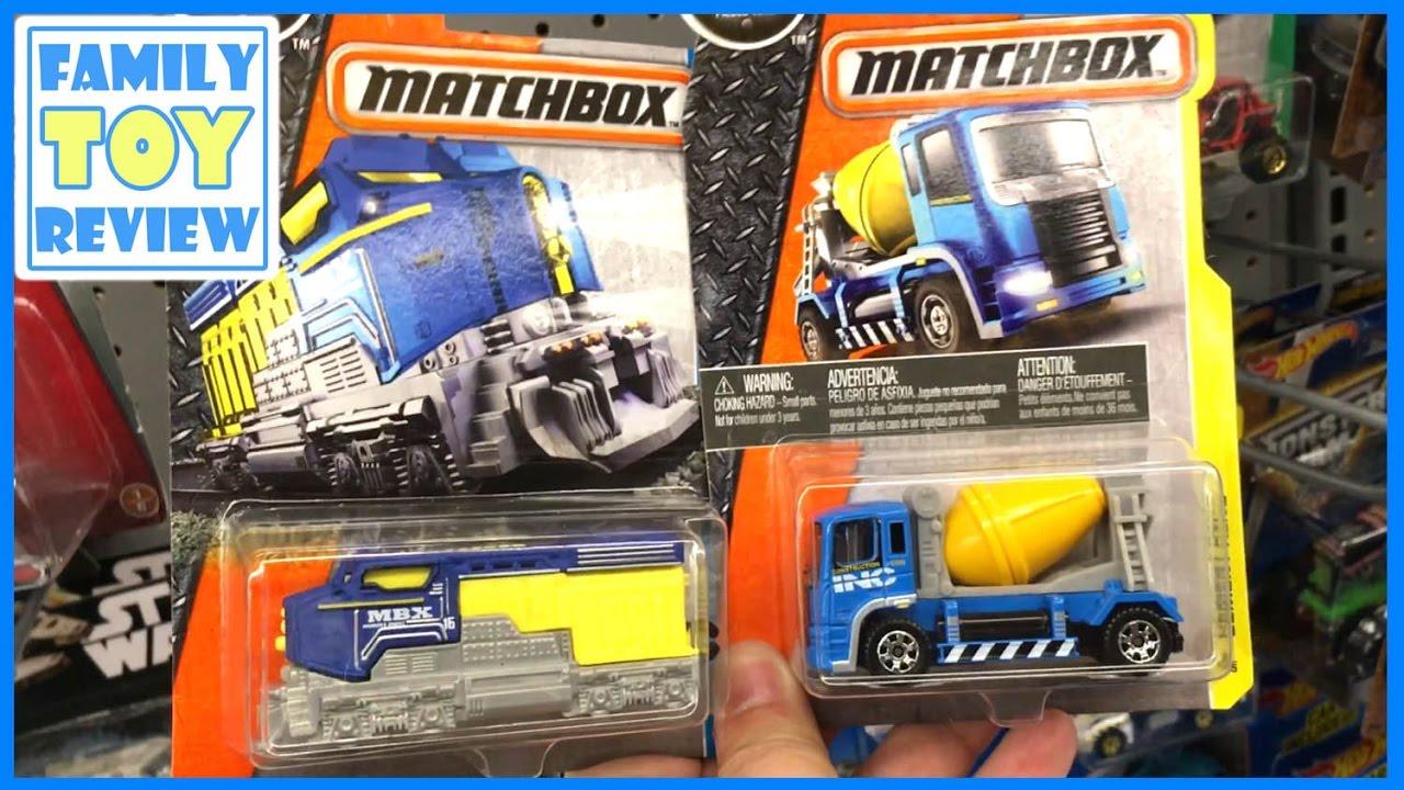 Best Matchbox Cars And Toys For Kids : New matchbox construction trucks cement mixer heavy