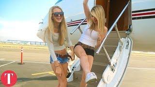 החיים של הילדה הכי עשירה בעולם, אבא קנה לה מטוס פרטי..