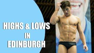Highs and Lows in Edinburgh | Shaving Matty 😜 I Tom Daley
