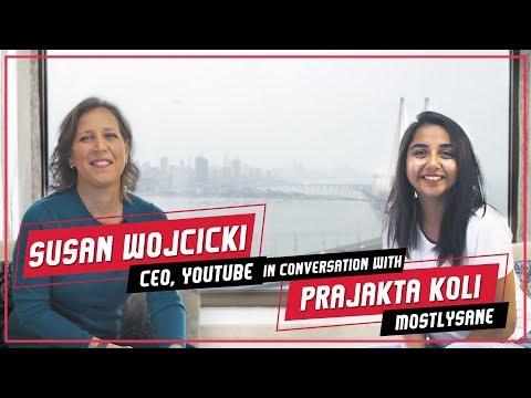 In Conversation with CEO, YouTube - Susan Wojcicki   #RealTalkTuesday   MostlySane