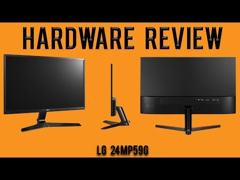 Hardware Review: LG 24MP59G FreeSync IPS 75Hz Gaming Monitor