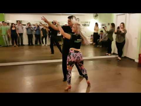 Intermediate Bachata Move - Demo Juan and Kristi