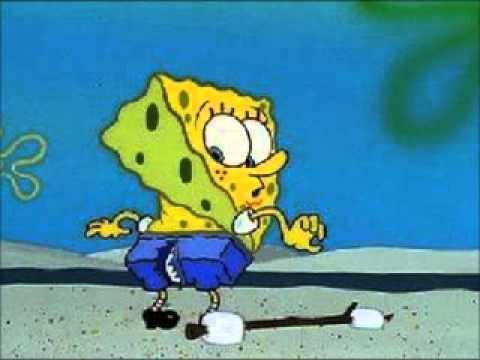 spongebob riss in der hose