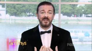 Ricky Gervais Owned the Emmys this year