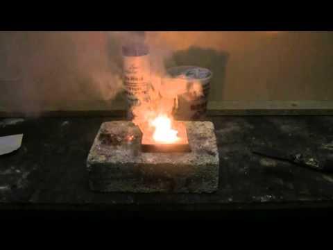 Quick Chemistry #5 - Sodium Bisulfate And Aluminium