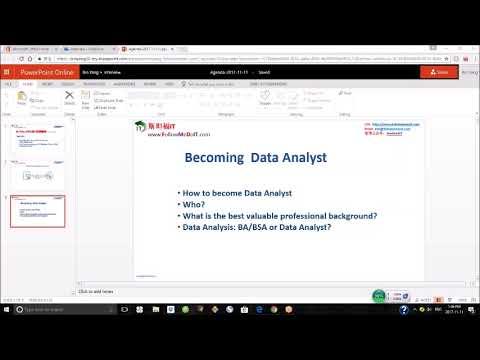 Yang Bin(杨斌)---为什么你成不了,数据分析师? (How to become Data Analyst?)