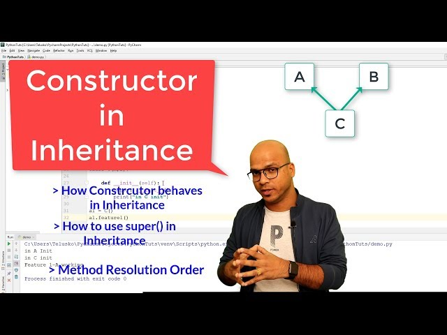 #56 Python Tutorial for Beginners | Constructor in Inheritance
