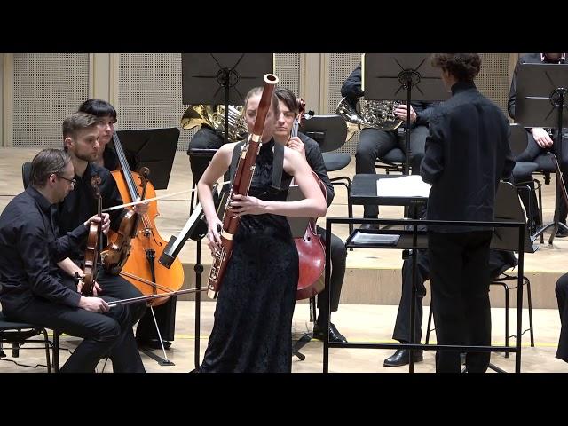 В.А. Моцарт Концерт для фагота с оркестром  си-бемоль мажор (КV 191/186e, 1774) фрагменты