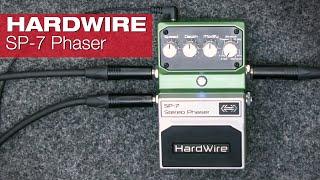 HardWire SP-7 Stereo Phaser präsentiert von Ralf Jung