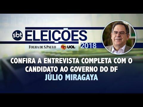 Entrevista com Júlio Miragaya (candidato ao GDF)