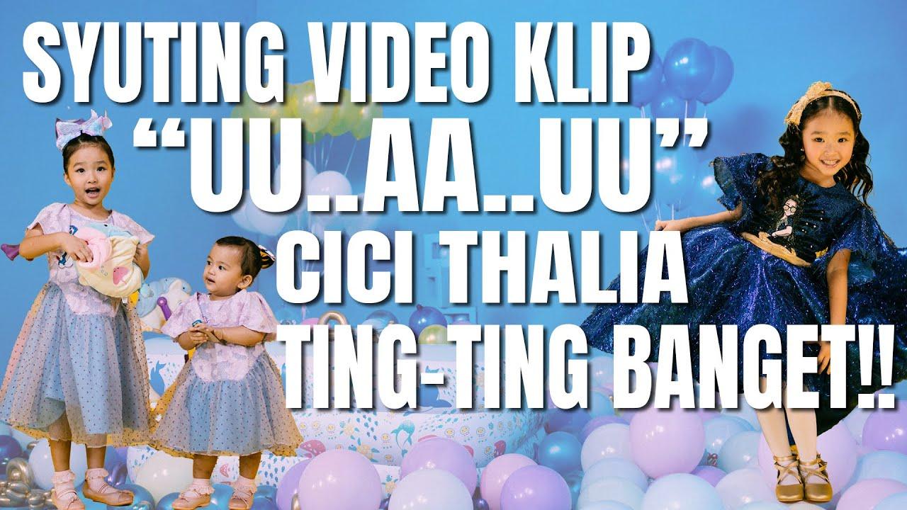 The Onsu Family - Syuting video klip UU..AA..UU, Cici Thalia ting-ting banget!!