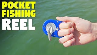 Rodless Pocket Fishing Reel