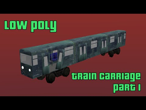 Project Assets: How to model a Train Carriage Part 1