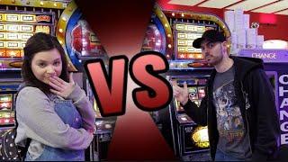 Girlfriend VS Boyfriend UK Slot Fruit Machine Challenge Who Will Win??
