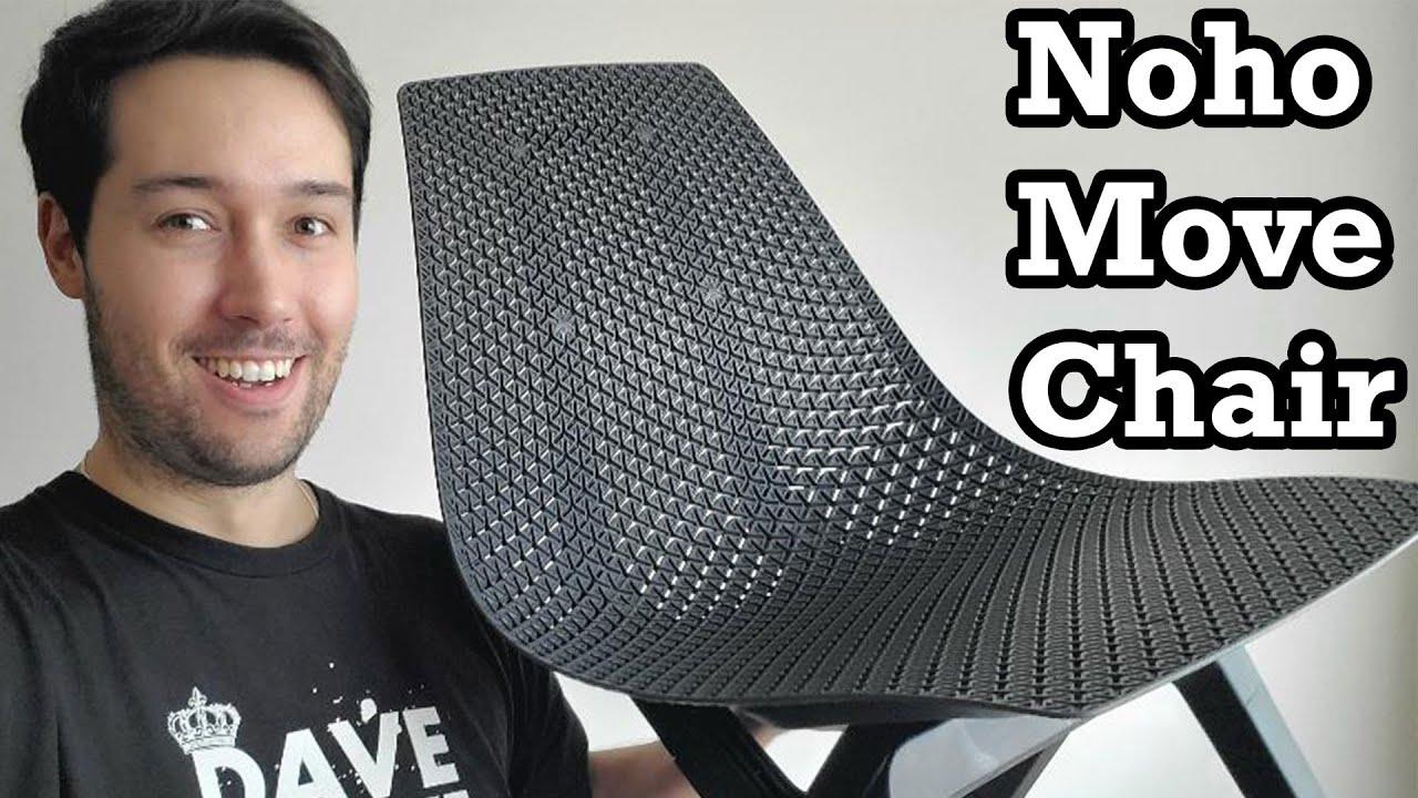 noho Move Chair Unboxing Setup Review Ocean Plastic Eco Friendly Office Home Decor Recline Topper
