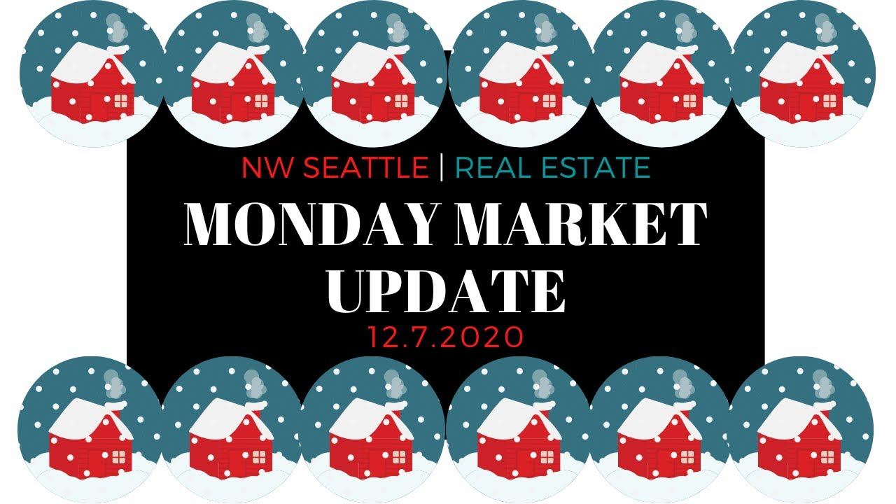 Monday ​NW Seattle Real Estate Market Update | December 7th, 2020