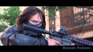 Первый мститель:Другая война (клип в HD качестве,по фильму)Ps Captain America