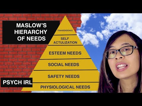 Maslow's Hierarchy Of Needs Explained