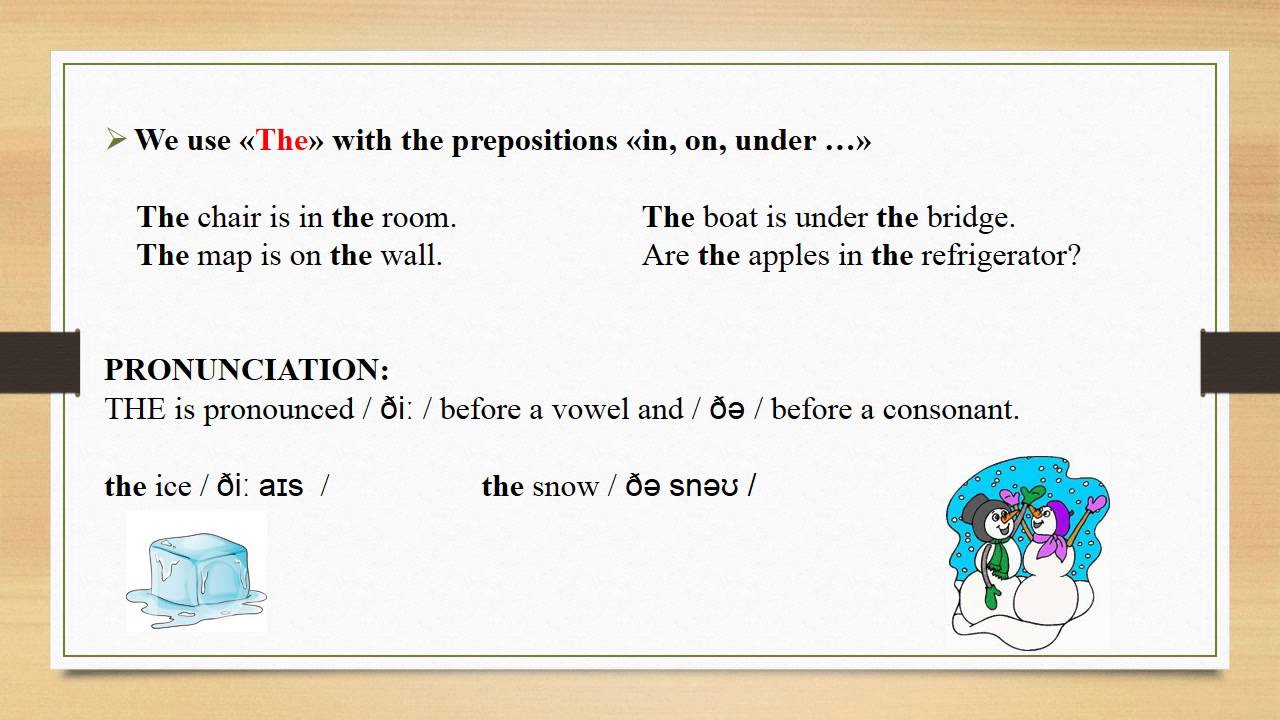 Worksheet Articles A An And The definite and indefinite articles subject explanation exercises