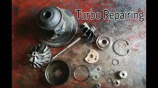 How to repair turbo and replace turbo kit