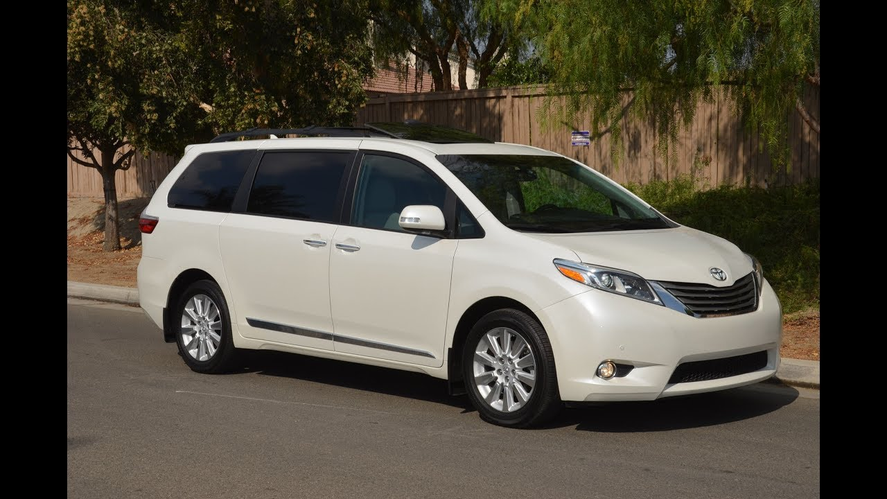 2015 toyota sienna limited premium awd review tour video blog youtube. Black Bedroom Furniture Sets. Home Design Ideas