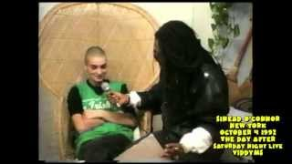 Sinead Oconnor On Ripping Picture Of the Pope - Day After SNL