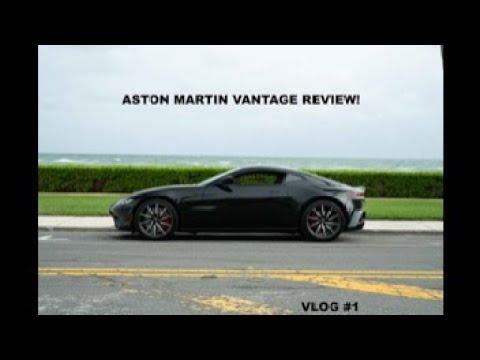 ASTON MARTIN VANTAGE!!