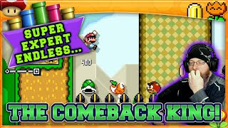 BREAKING THE RULES! | Super Mario Maker 2 Super Expert No Skip with Oshikorosu! [63]