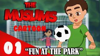 Die Muslime Cartoon: Spaß im Park - [ muslimische Cartoon ( keine Musik ) ]