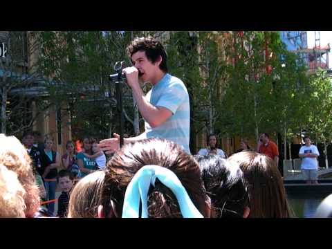 David Archuleta God Bless The Broken RoadRascal FlattsSalt Lake City