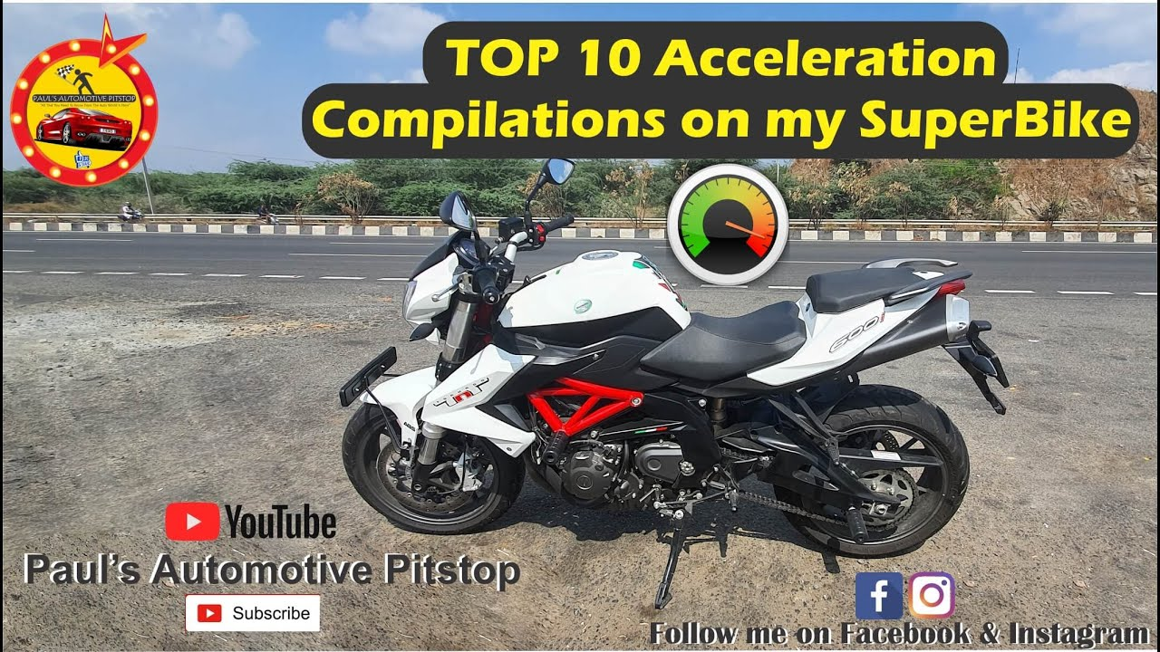 Top 10 Acceleration Compilation on my Super Bike | Paul's Automotive Pitstop