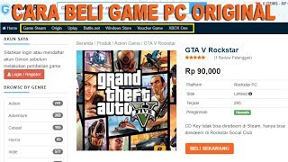 CARA BELI GAME PC ORIGINAL GA PAKE RIBET