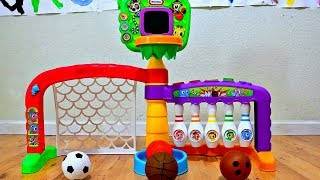 Toy Learning Counting with Learn and Play Sports Zone for Toddlers
