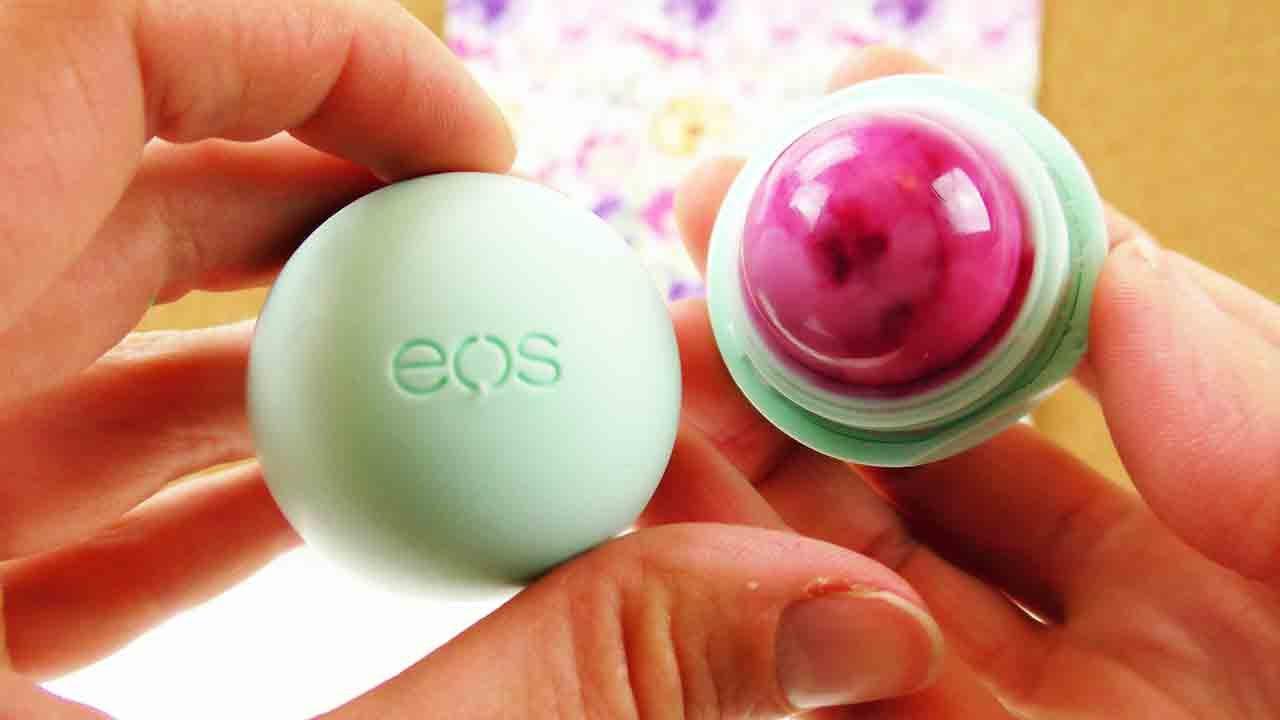 eos lipbalm seife selber machen diy soap in eos lippenpflege pinke eos seife zum mitnehmen. Black Bedroom Furniture Sets. Home Design Ideas
