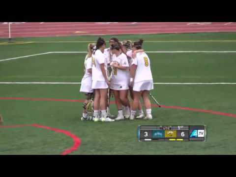 UMBC Women's Lacrosse vs Mount St. Mary's 3/1/17 - YouTube
