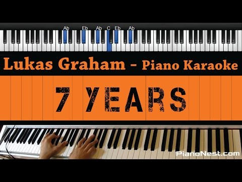 Lukas Graham - 7 Years - Piano Karaoke / Sing Along / Cover with Lyrics