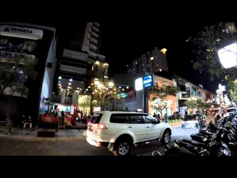 Braga Street by Night - a Historical Street in Bandung, West Java