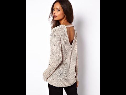 Свитер Английской Резинкой Спицами - 2019 / Sweater English Eraser Knitting