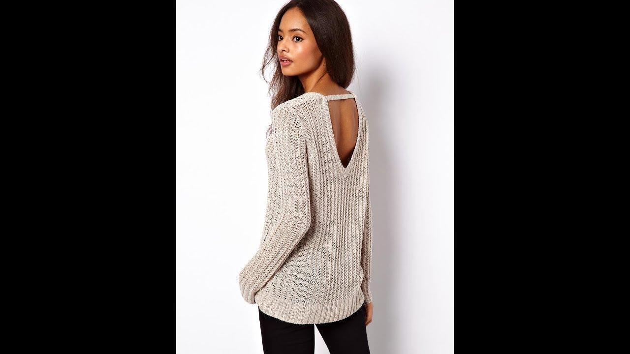 свитер английской резинкой спицами 2019 Sweater English Eraser