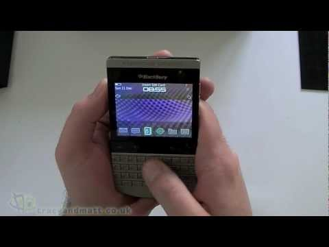 Porsche Design BlackBerry P9981 unboxing video